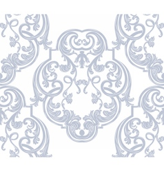 Luxurious glamorous baroque ornament pattern vector