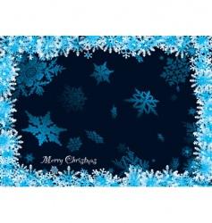 snowflake 3d vector image