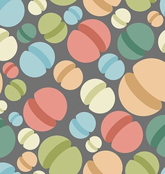Sphere seamless pattern Abstract geometric vector image