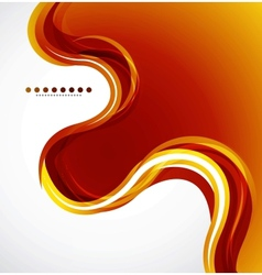 Orange flowing wave vector