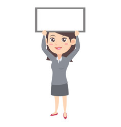 Business women character style vector