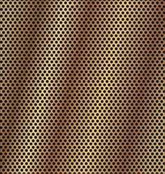 gold metal background vector image vector image