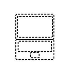 technology device laptop communication digital vector image