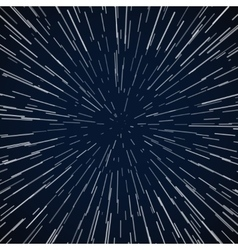 Warp stars zoom blue galaxy war abstract vector