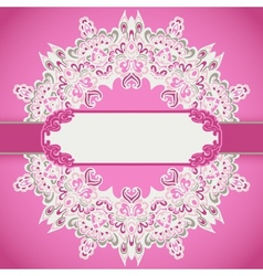 Romantic holiday background vector