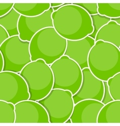 Seamless pattern background from lime vector