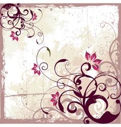antique vintage background vector image