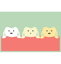 Teeth whitening vector