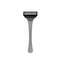 Razor isolated hair shaving machine on white vector