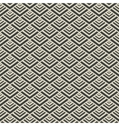 triangle geometric seamless pattern vector image vector image