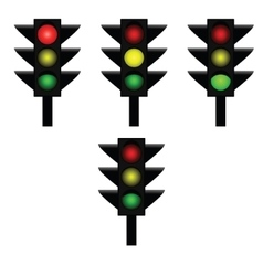 Traffic lights 1 vector