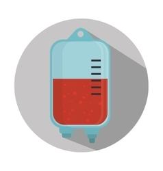 Medical blood bag vector