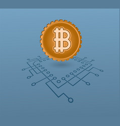 Crypto-currency vector