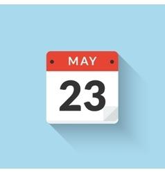 Flat calendar icon design business symbol vector