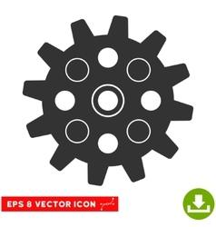 Gearwheel eps icon vector