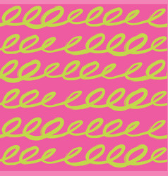 Seamless pattern in bright summer colors vector