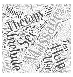 What should you know about massage therapy word vector