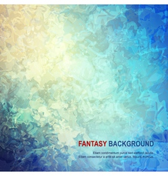 Fantasy abstract background vector