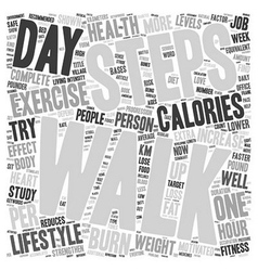 Exercise for everyone text background wordcloud vector