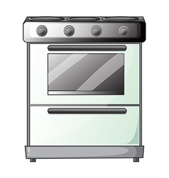 Gas stove vector