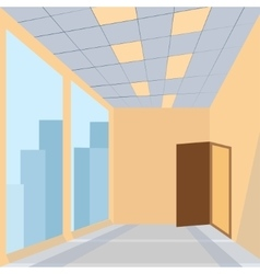 Office with door vector