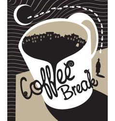 Coffee break vector
