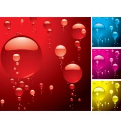 Bubble variation vector
