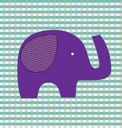 Love baby elephant vector