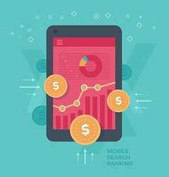 Monetizing mobile web traffic vector