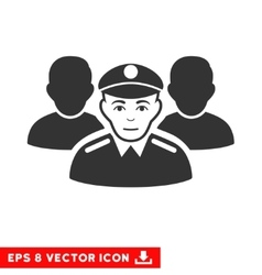 Army team eps icon vector