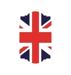 England flag isolated icon vector