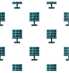 Solar battery pattern seamless vector