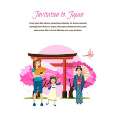 Language style of clothing drinks traditions vector