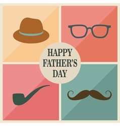 Fathers items vector