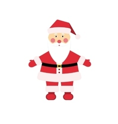 Dear Christmas character Santa Claus in vector image