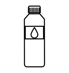 Bottle water isolated icon design vector
