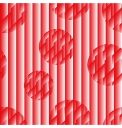 Seamless pattern in the Japanese style red-white vector image