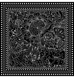 Black mono color Adult vector image