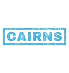Cairns rubber stamp vector