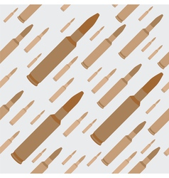 gun bullets seamless background vector image