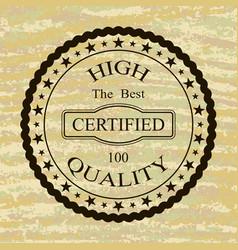 High quality logo vector