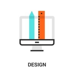 Web design icon vector