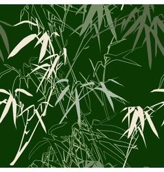 Bamboo seamless texture vector image