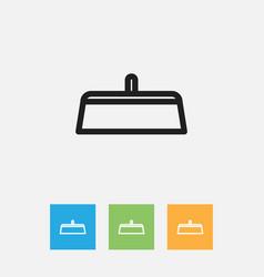 Of tools symbol on scraper vector