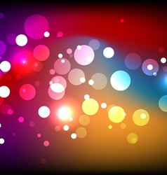 sparkling colorful background vector image