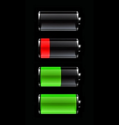 Battery life vector
