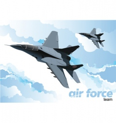 air force vector image vector image