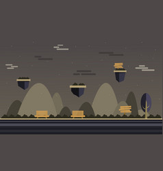 At night background for game style vector