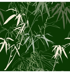 Bamboo seamless texture vector image vector image