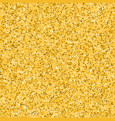 glitter golden background vector image